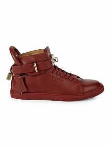 Alce Leather High-Top Sneakers