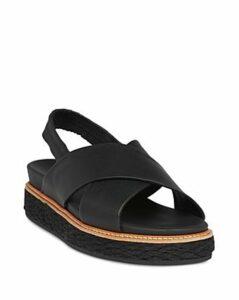 Whistles Women's Robyn Slingback Platform Sandals
