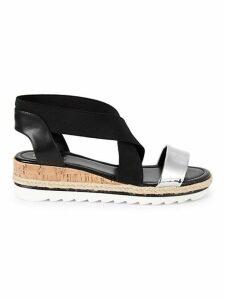 Molly Crisscross Wedge Sandals