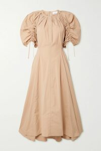 MATIN - Belted Cotton-twill Jacket - Army green