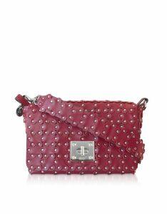 RED Valentino Designer Handbags, Flower Puzzle Twist Lock Shoulder Bag