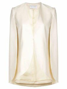 Marina Moscone half-moon jacket - White
