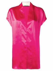 Haider Ackermann v-neck blouse - Pink