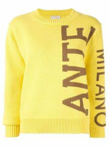 Anteprima logo sweatshirt - Yellow