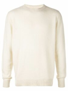 The Elder Statesman round neck jumper - Neutrals