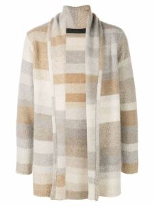 The Elder Statesman cashmere Italy Smoking cardigan - NEUTRALS