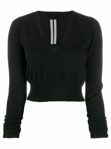 Rick Owens cropped pullover - Black