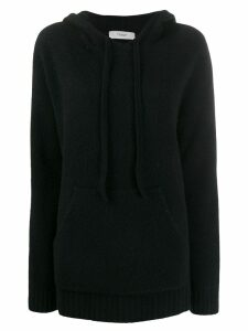 Pringle of Scotland Oversized Soft Hoodie - Black