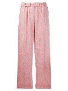 Peserico elasticated wide trousers - NEUTRALS