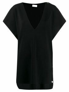 MRZ v-neck top - Black