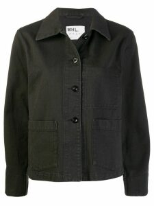 Margaret Howell button denim jacket - Black