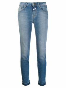 Closed cropped skinny jeans - Blue