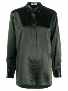 Bottega Veneta satin blouse - Green