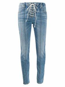 UNRAVEL PROJECT slim-fit jeans - Blue