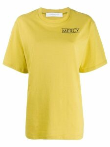 Walk Of Shame Mercy T-shirt - Yellow
