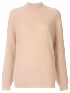Nanushka ribbed knit jumper - Brown