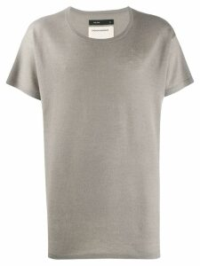 Frenckenberger oversized T-shirt - NEUTRALS