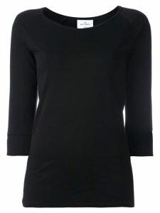 The White Briefs three-quarters sleeved T-shirt - Black
