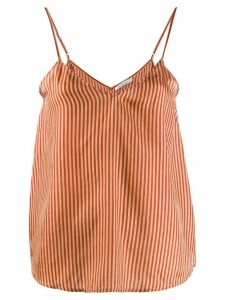 Mes Demoiselles striped tank top - Red