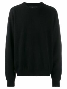 Frenckenberger boyfriend sweatshirt - Black