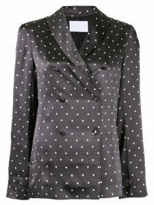 Asceno polka-dot print blouse - Black