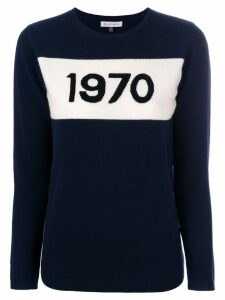 Bella Freud intarsia-knit jumper - Blue