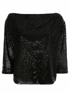 A.L.C. sequin embellished blouse - Black