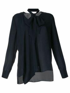 Elie Tahari tie waist blouse - Blue