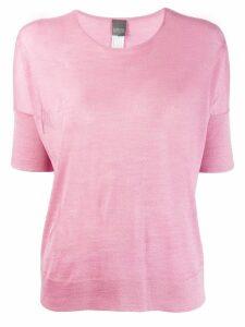 Lorena Antoniazzi star pattern T-shirt - PINK