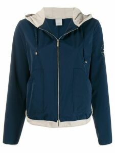 Lorena Antoniazzi zip up jacket - Blue