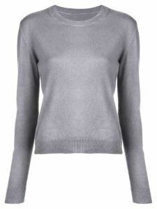 The Elder Statesman fine knit sweater - Grey