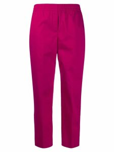 Theory slim cropped trousers - Pink
