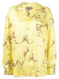 Preen By Thornton Bregazzi floral print shirt - Yellow