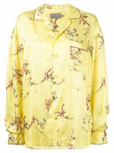 Preen By Thornton Bregazzi floral print shirt - Yellow