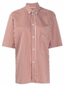 Plan C short-sleeved shirt - Brown