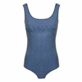 Balmain Jersey Logo Bodysuit