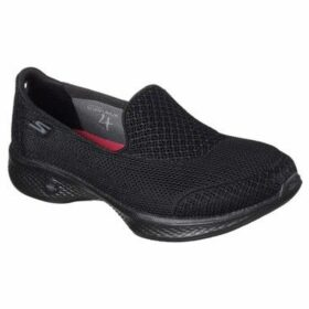 Skechers  GOwalk 4 Propel Womens Shoes  women's Slip-ons (Shoes) in Black