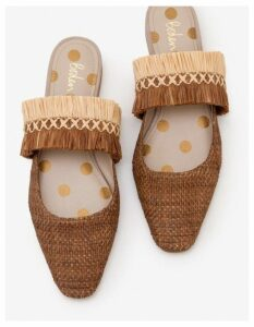 Rosa Mules Brown Women Boden, Brown
