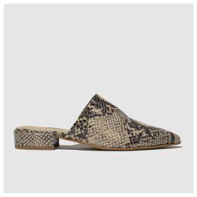 Schuh Natural Puzzle Flat Shoes