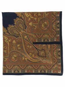 Yves Saint Laurent Pre-Owned 1990s' printed scarf - Brown