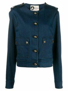 LANVIN Pre-Owned 2000 denim jacket - Blue