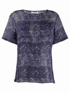 Missoni Pre-Owned 1990s patterned top - Blue