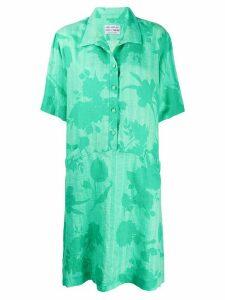 A.N.G.E.L.O. Vintage Cult 1980's floral shirt dress - Green