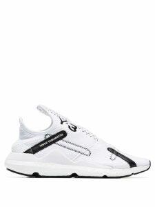 Y-3 White Reberu low-top sneakers