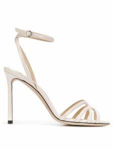 Jimmy Choo Mimi 100mm sandals - NEUTRALS