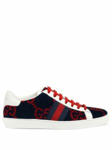 Gucci Women's Ace GG terry cloth sneaker - Blue