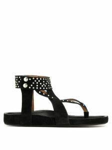 Isabel Marant Ellan studded sandals - Black