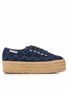 Superga 2790 platform sneakers - Blue