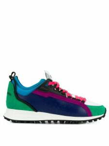 Dsquared2 colour block panelled sneakers - Blue