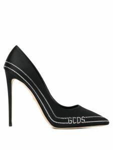 Gcds embellished stiletto pumps - Black